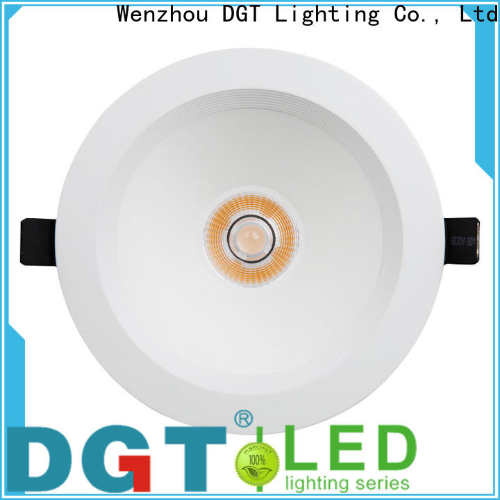 DGT Lighting quality dimmable led downlights supplier for home