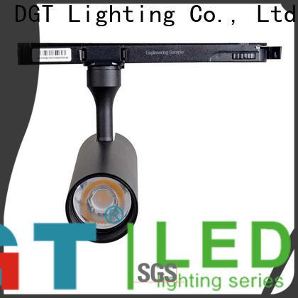DGT Lighting low profile track lighting manufacturer for outdoor