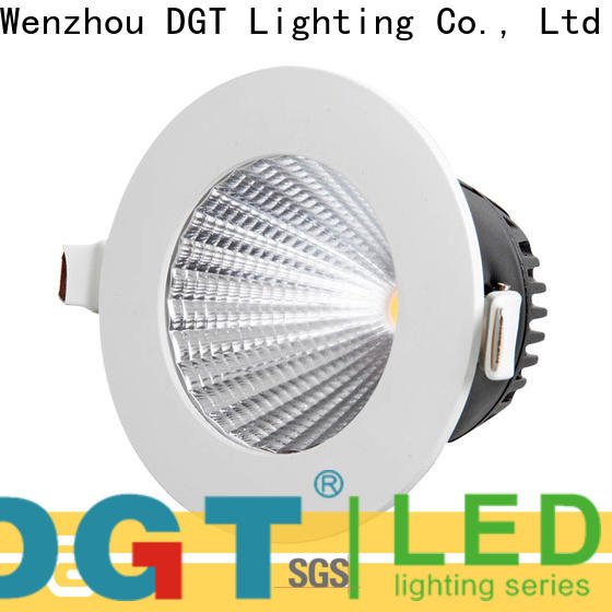 DGT Lighting recessed downlight fixture personalized for home