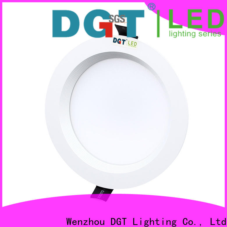 DGT Lighting certificated home downlight factory price for bathroom