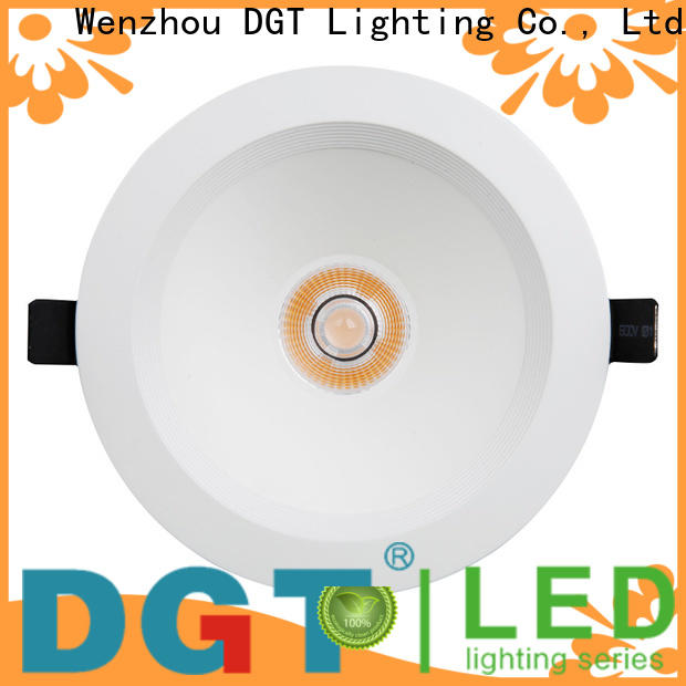 DGT Lighting led down lights personalized for spa