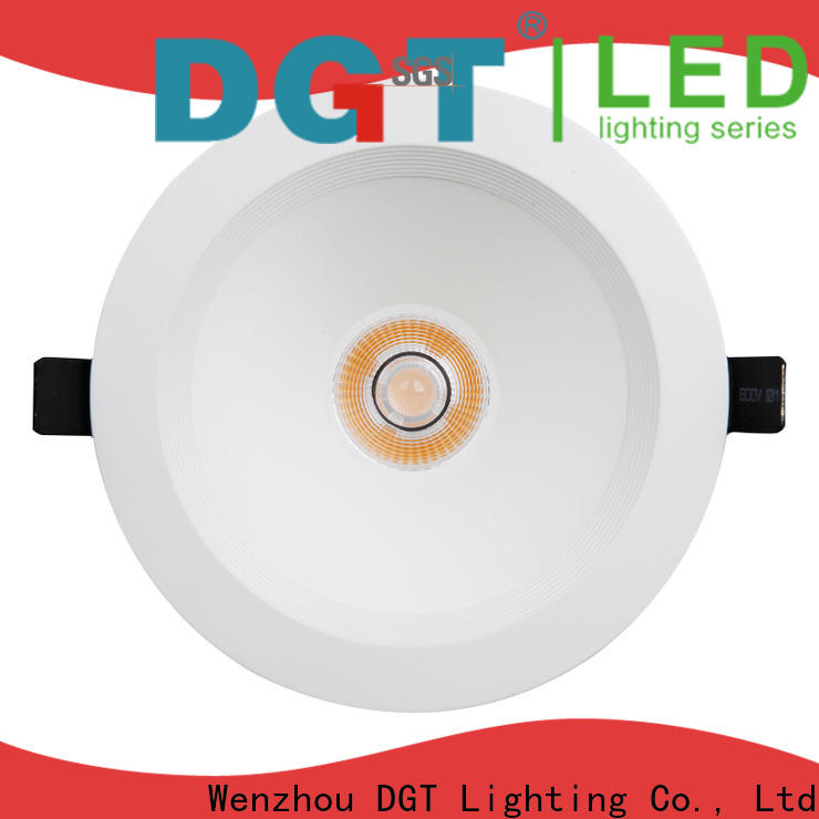 DGT Lighting long lifespan low profile led downlights factory price for spa