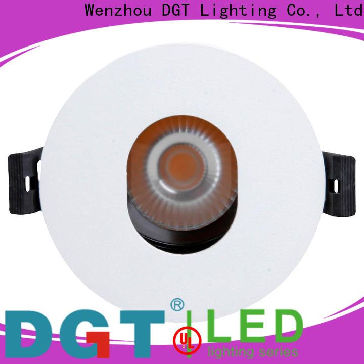 long lasting spot downlight design for commercial