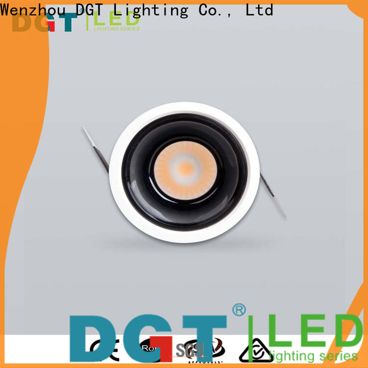 DGT Lighting excellent led recessed spotlights with good price for indoor