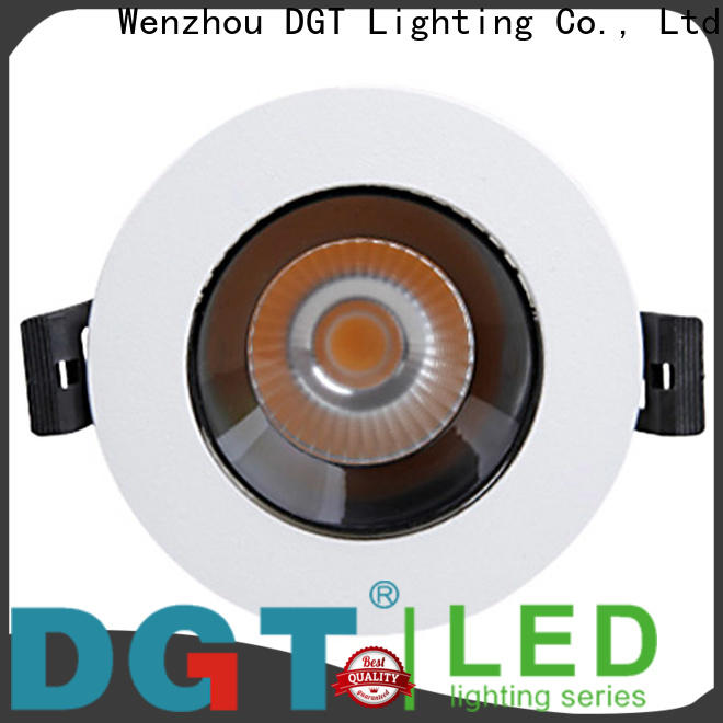 DGT Lighting led recessed spotlights factory for indoor