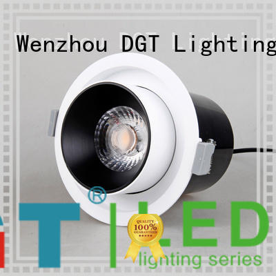 DGT Lighting long lasting recessed spotlights design for commercial