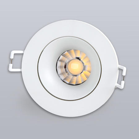 MQ-1187 Anti Glare Dim to Warm dimmable LED COB 480LM Spotlight Of MQ-1187