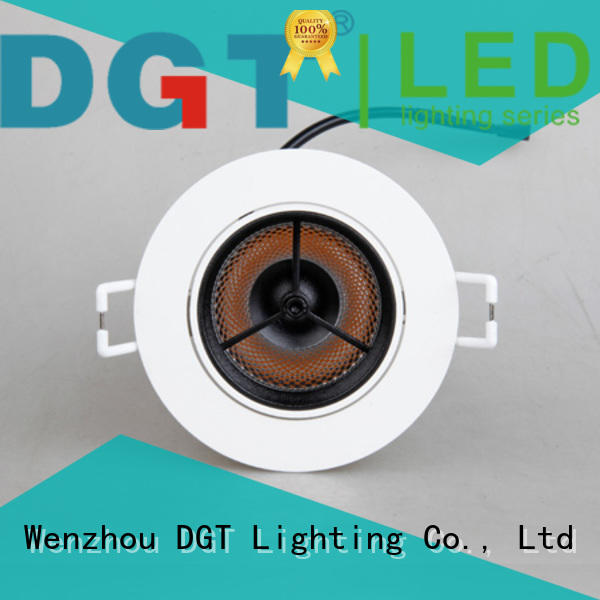 DGT Lighting approved led recessed ceiling spotlights for commercial