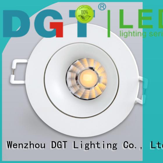 DGT Lighting spotlight light design for club