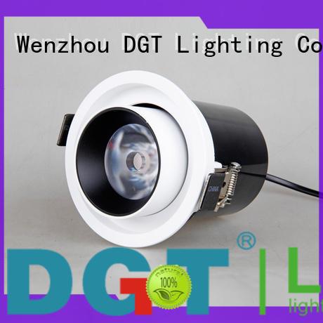 DGT Lighting efficient recessed spotlights design for indoor