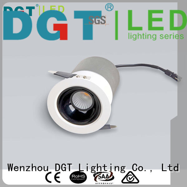 DGT Lighting long lasting led recessed spotlights with good price for indoor